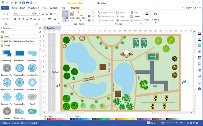 garden design software visio alternative design garden plans on mac windows linux - Visio Like Program For Mac