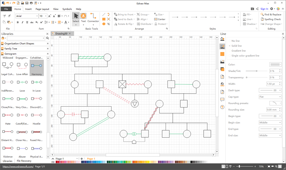 free genogram template for mac - genogram software for mac windows and linux
