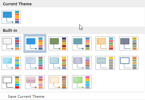 switch gcp project theme