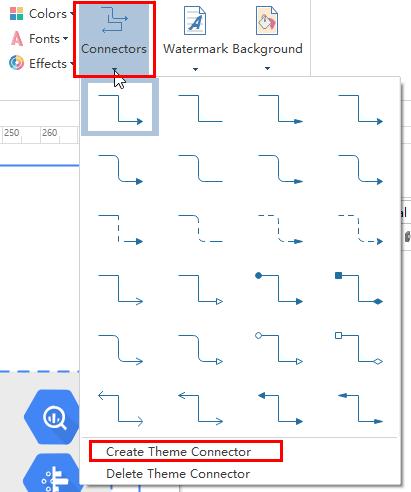 edit connectors