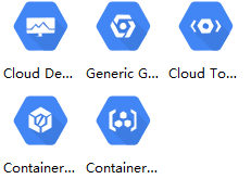 gcp developer tools icons