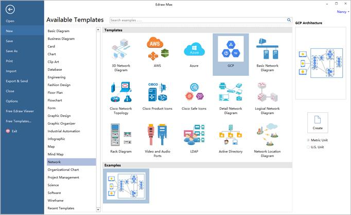 gcp software interface
