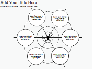 Spider Diagram Graphic Organizer Template 3