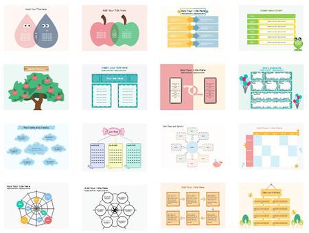 Modelli di organizzatore grafico