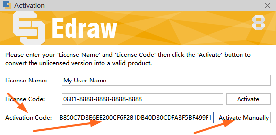 edraw max 9.1 license key free