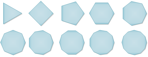 Variation of Dynamic Polygon