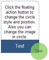 Show Text Circle