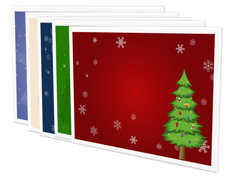 Christmas Card Background Package