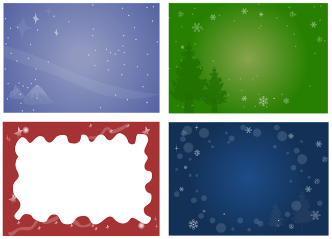 Christmas Card Background.Make A Personalized Christmas Card In 3 Steps