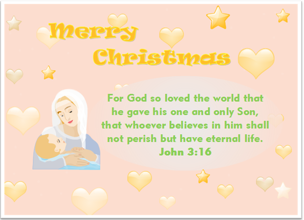Christmas Card Quote Bible