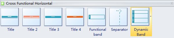 Funktionsübergreifende Flussdiagramm-Symbole
