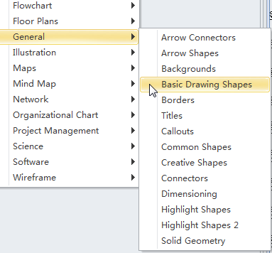 Open Basic Drawing Shapes