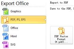 Exportar vetor Pdf