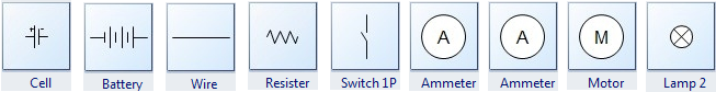 Frequently Used Circuits Symbols