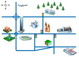 2D Street Map