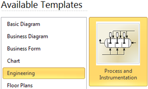 Process and Instrumentation Template