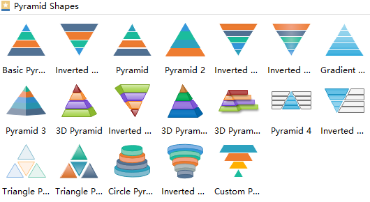 Pyramid Shapes