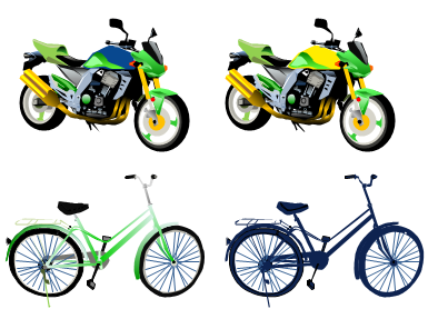 recolor vehicle clipart