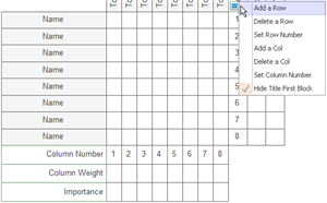 Add or Remove Rows and Columns