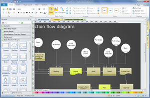Start Create Basic Flowchart
