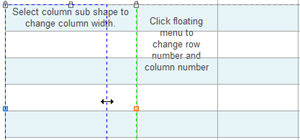 Change the Column Width