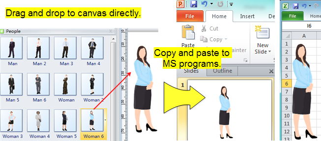 Use People Clip Art