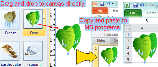 Weather Clipart for Word, PowerPoint and Excel