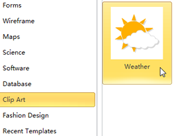 Icon of Weather Template