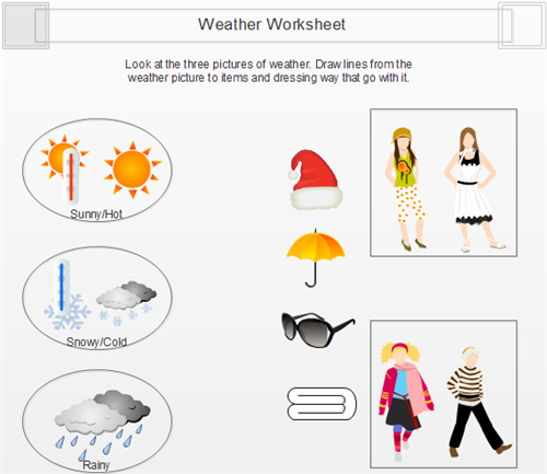 Weather Worksheet Example