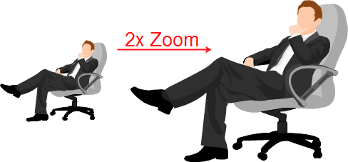 Zoom People Clip Art