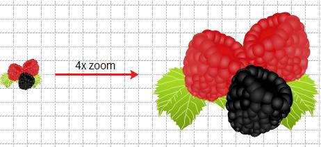 zoom en clip art