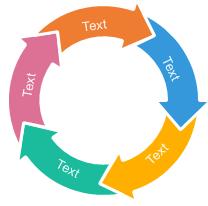Circle Arrows Chart