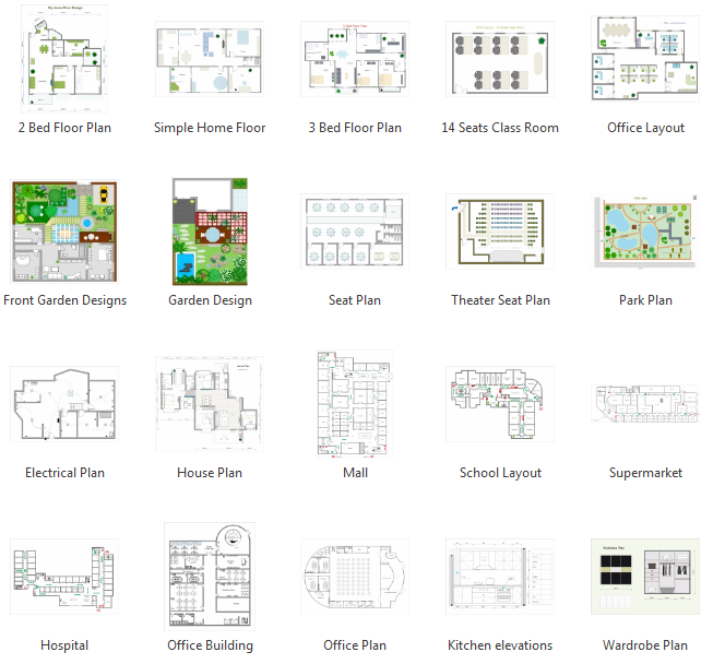 Floor Plan Design Examples