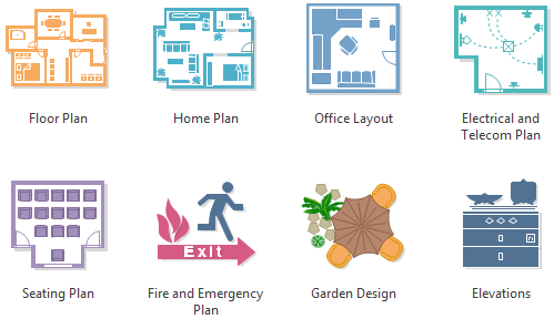 Floor Plan Software - Create Floor Plan Easily From Templates and Examples