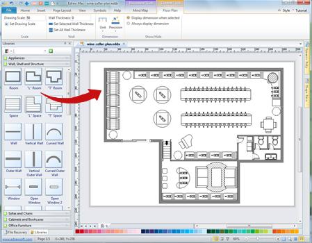 Wine Cellar Plan Software