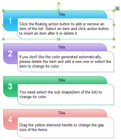 step list