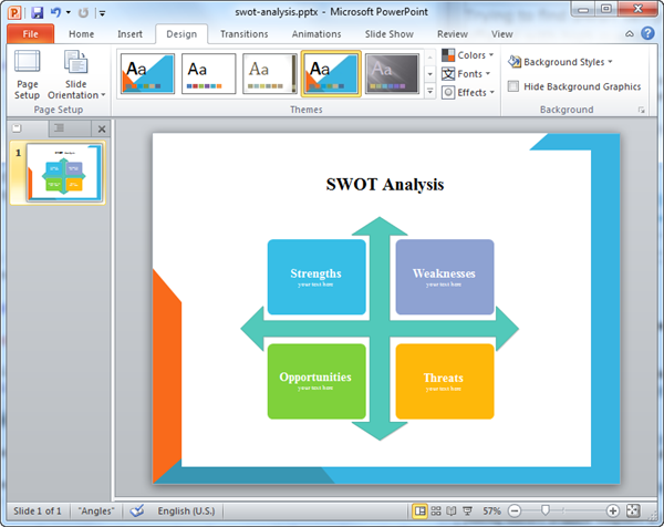 SWOT for PPT
