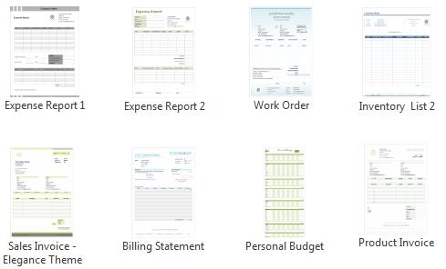 exemple de report de depense