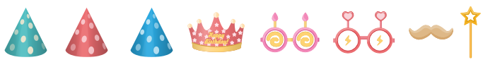 Birthday Costume Symbols