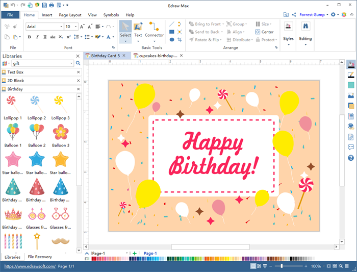 Birthday Card Software