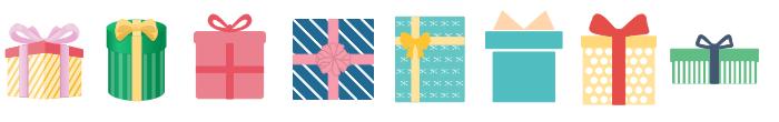 Birthday Gift Symbols