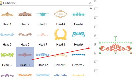 Certificate Design Elements