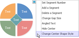 Change Circular Diagram Symbols