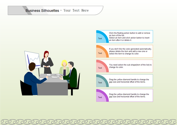 business sihouettes