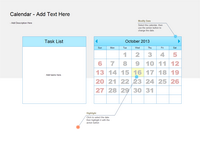 Day schedule calendar