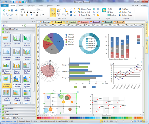 Survey result reporting charts customizable templates free download survey report chart software download a free toneelgroepblik Image collections