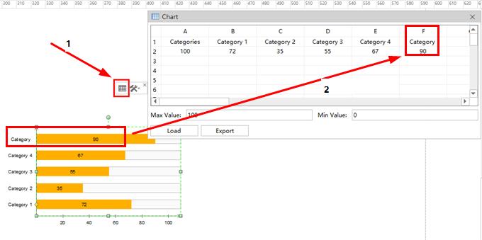 edit bar chart details