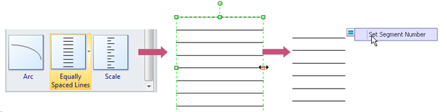 Equally Spaced Lines