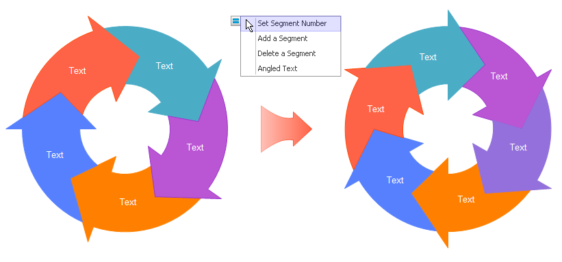 modify segment number in circular motion diagram