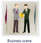 Business Scene Clip Art
